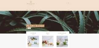 DB Botanicals Shopify Website